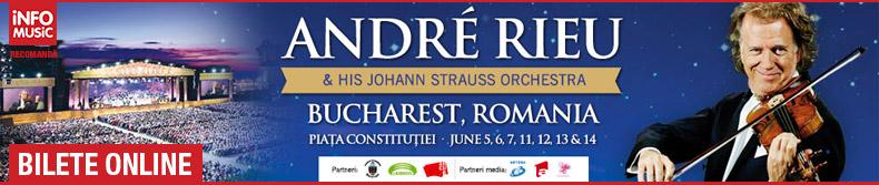 Bilete concert Andre Rieu Romania 2015
