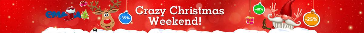 CRAZY Christmas Weekend - Reduceri de Craciun la eMAG!