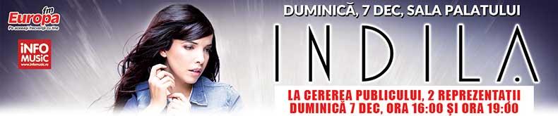 Informatii bilete concert Indila