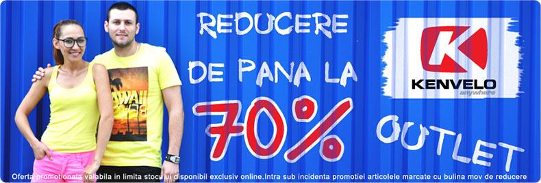 70% REDUCERE la outletul KENVELO de pe MiniPrix.ro
