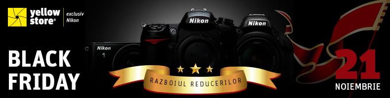 Oferte Nikon de Black Friday