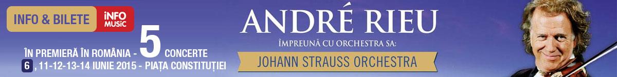 Informatii si bilete concert Andre Rieu in Romania