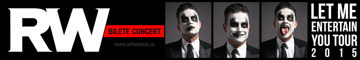 Bilete concert Robbie Williams