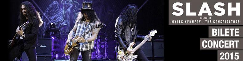Bilete concert Slash Romania 2015