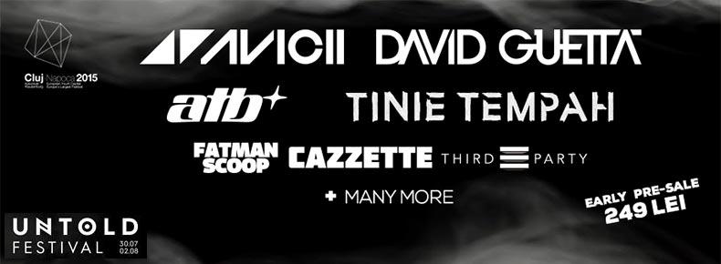 Informatii bilete UNTOLD Festival Cluj Napoca