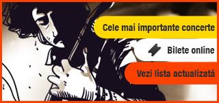 Top concerte in Romania - Cumpără bilete online