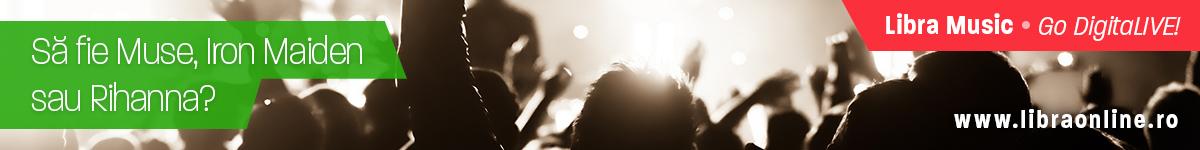 Castiga 2 bilete la concertul dorit cu LibraMusic