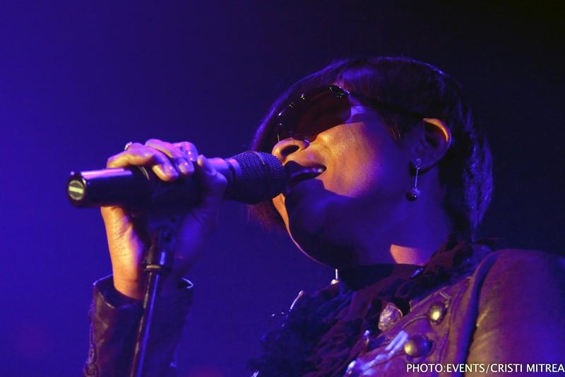 Gabrielle în concert la Bucuresti, pe 29 octombrie 2010, la Fratelli Studios