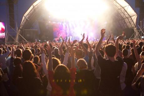 Publicul la concertul Roxette din 2011
