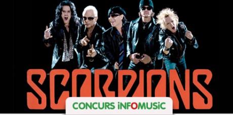 Concurs concert Scorpions