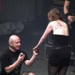 Cerere in casatorie la concertul Lake of Tears