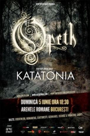 Concert-Opeth si Katatonia
