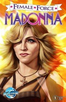 Coperta benzi desenat - Madonna
