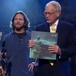Eddie Vedder la emisiunea Late Show cu David Letterman