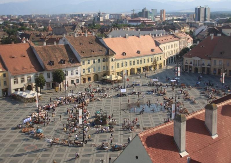 Piața Mare din Sibiu din Sibiu