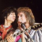 Ronnie Wood & Rod Stewart 1975