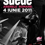 Suede- Afis eveniment