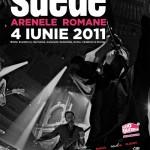 Suede- Afis eveniment