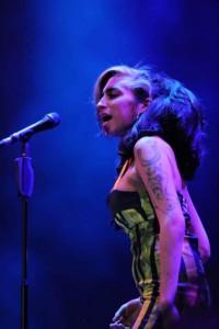 Amy Winehouse huiduita in Belgrad (foto: Brajan Rasic)