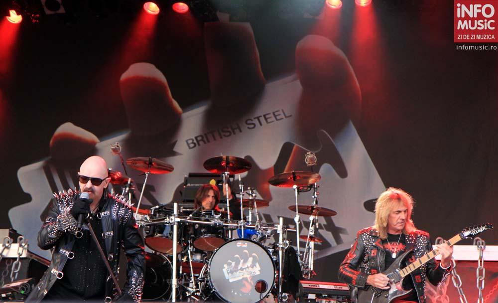 Judas Priest in concert la Rock The City (3.07.2011 / foto: infomusic.ro)