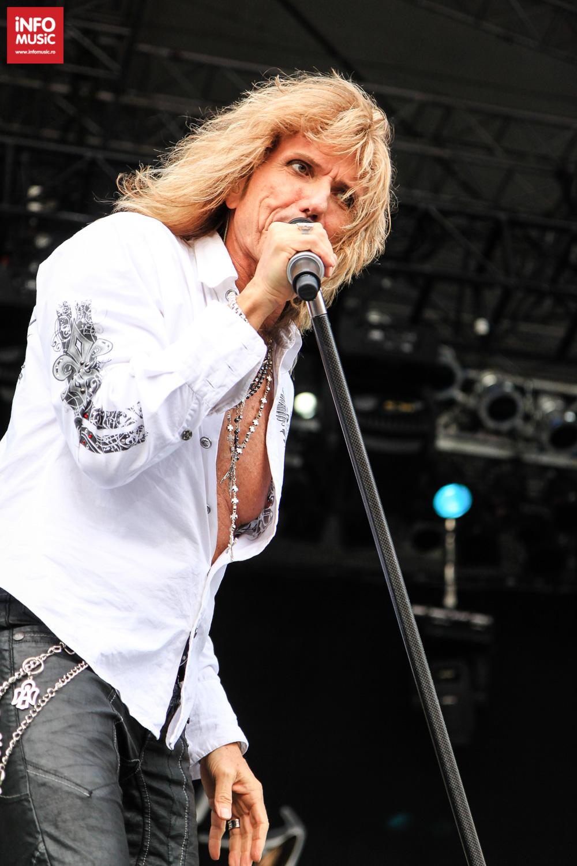 Whitesnake in concert Rock The City, Bucuresti (3.07.2011 / Foto: infomusic.ro)