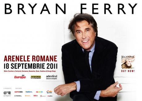 BRYAN FERRY- concert la bucuresti