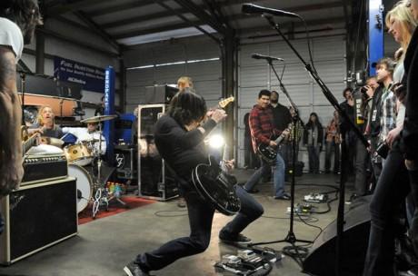 Foo Fighters Garage Tour
