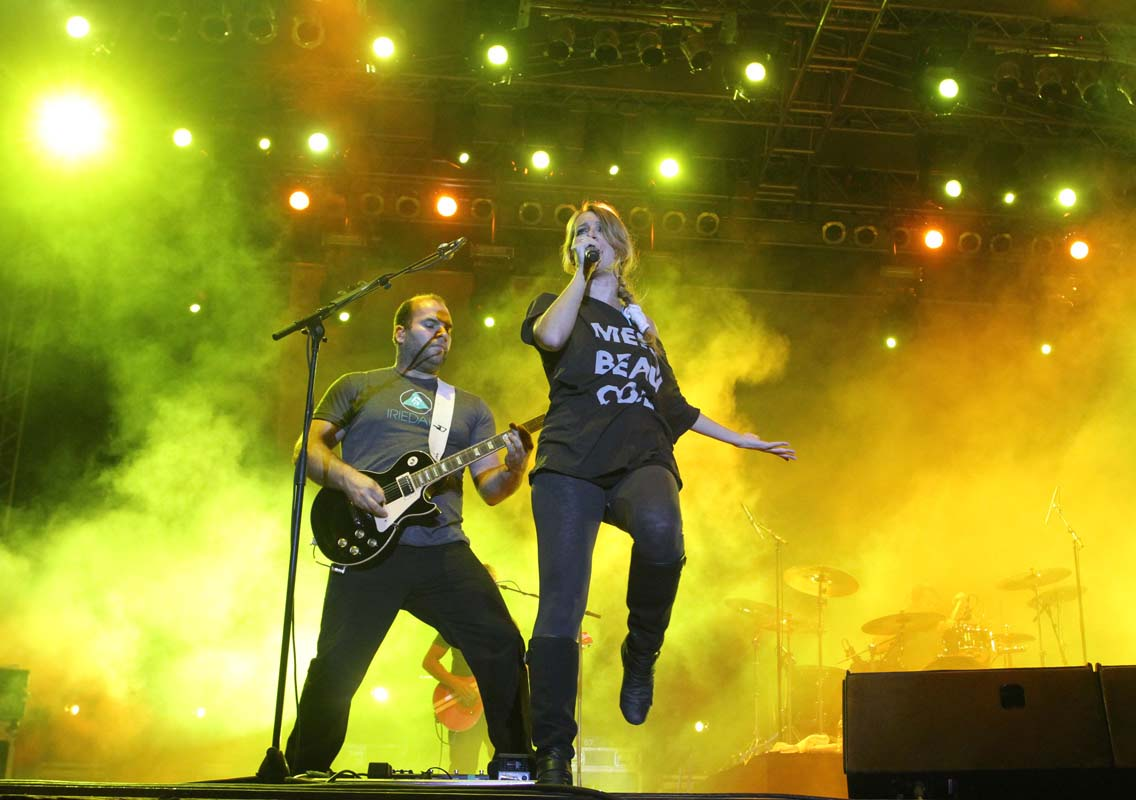 Guano Apes, 25 august 2011, Tuborg Green Fest Peninsula, Credit foto Boda Gergely