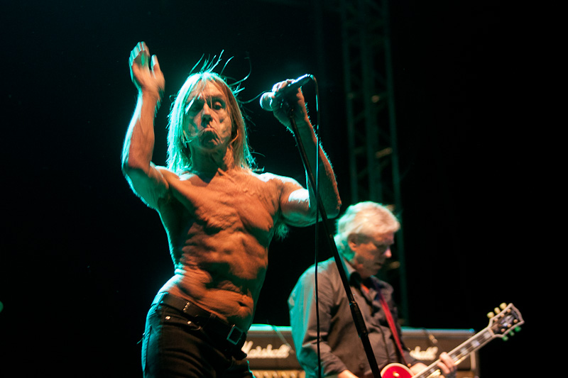 Iggy and The Stooges, 27 aug 2011, Tuborg Green Fest Peninsula, credit foto Calin Ilea