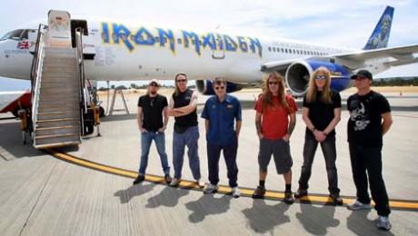 Iron Maideon flight 666