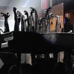 Lady Gaga's pianos