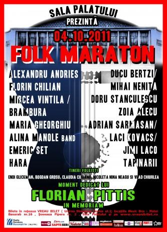 Afis_Folk Maraton 2011