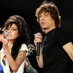 Amy Winehouse și Mick Jagger