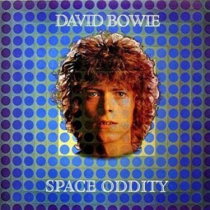 Coperta single David Bowie - Space Oddity