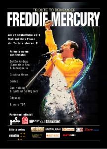 Tribute pentru Freddie Mercurry