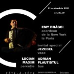 Concert Emy Dragoi si Jezebel - 21 septembrie