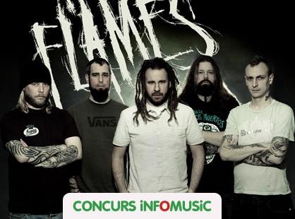 castiga invitatii la concertul In Flames