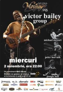 Afis Victor Bailey Sibiu