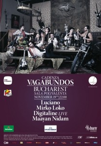 Cadenza Vagabundos, live la Sala Polivalentă!