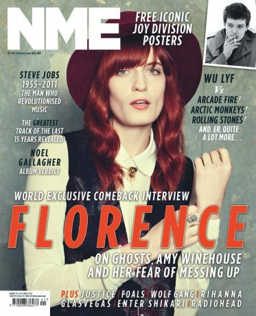 Florence And The Machine Coperta NME Oct 2011
