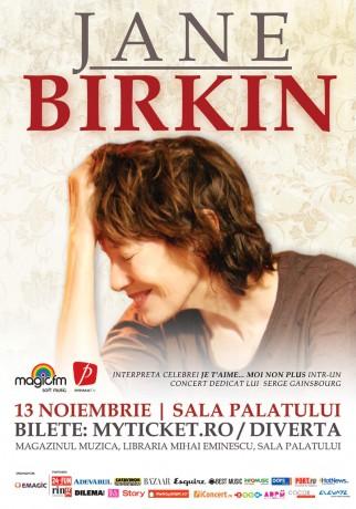Jane Birkin - afis eveniment