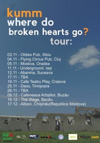 KUMM WHERE DO BROKEN HEARTS GO Tour 2011