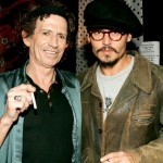 Keith Richards si Johnny Depp