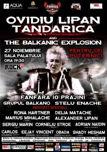 Ovidiu Lipan Tzandarica and the Balkanic Explosion