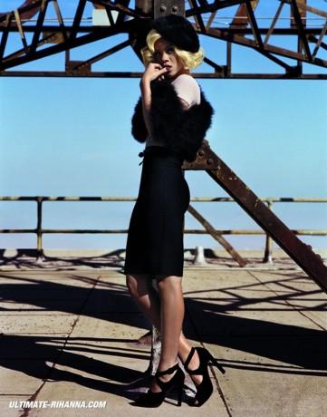 Rihanna pictorial Vogue UK 2011