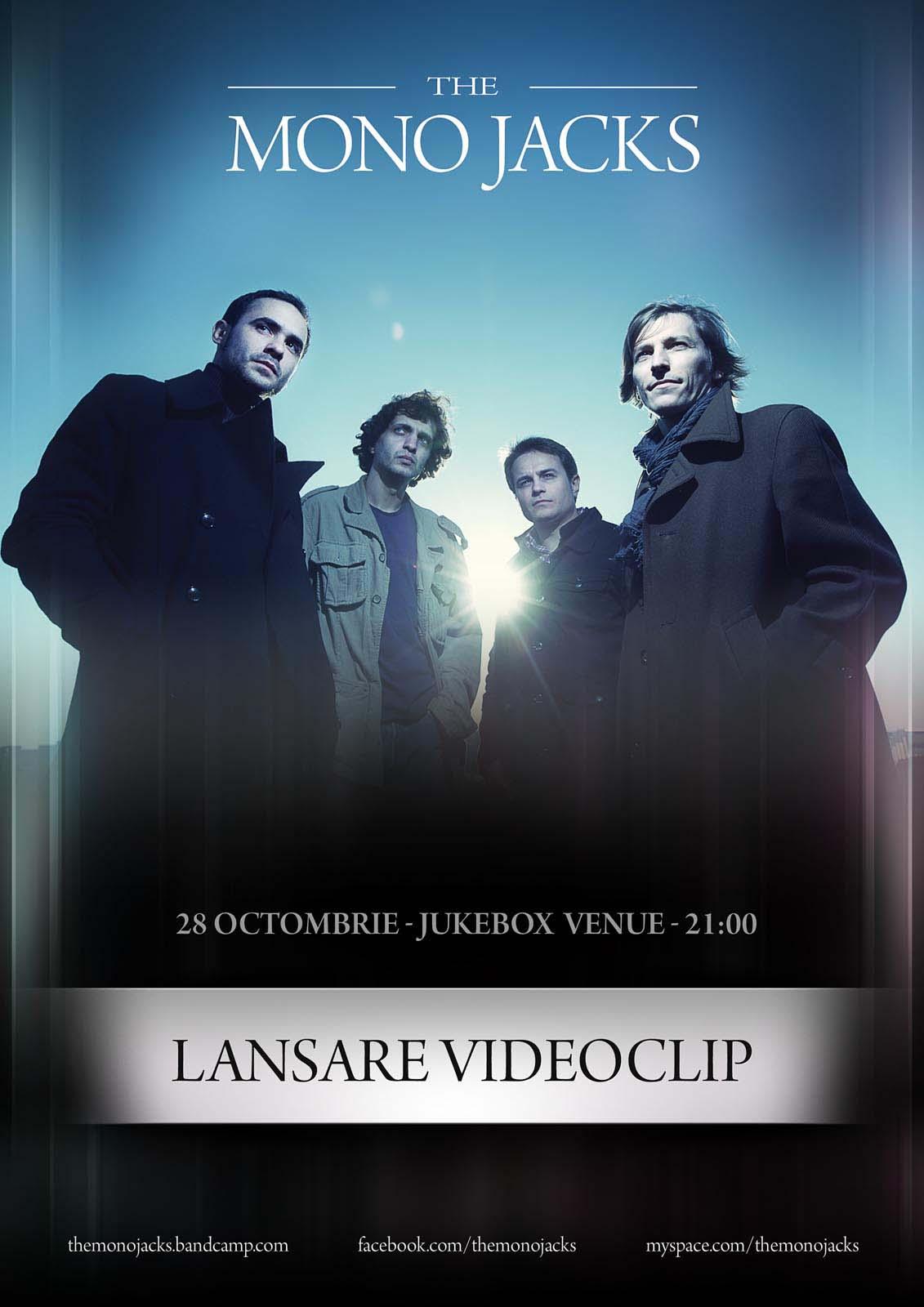 The Mono Jacks Poster Videoclip