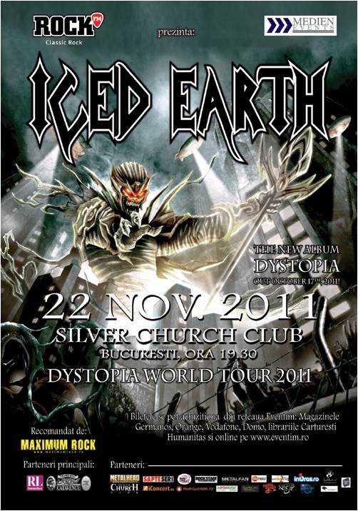 Afis Concert Iced Earth