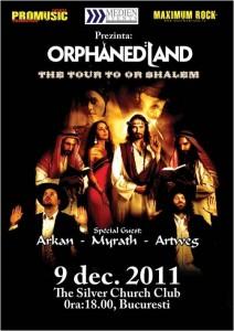 Afis Concert Orphaned Land