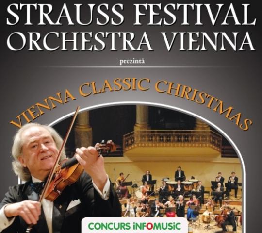 Castiga invitatii duble la spectacolul Vienna Classic Christmas