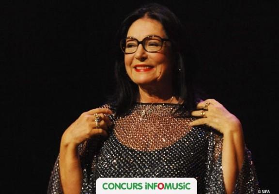 Castiga invitatii la concertul Nana Mouskouri